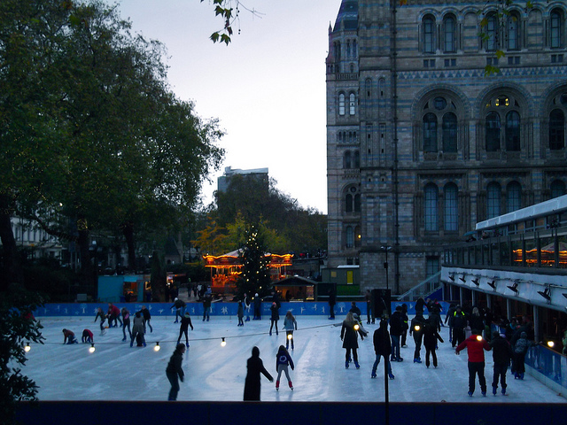 Ice Skating in London, IMG Cred: Chris Osburn