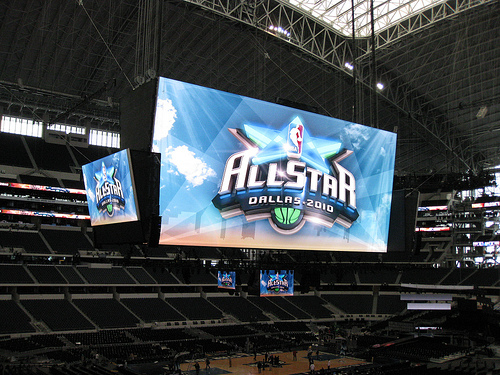 Cowboys Stadium: Home to the world's largest LED screen (CC Flickr photo credit: David Jones)