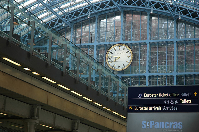 Make Time to Dine at St. Pancras Station, IMG Cred: Chris Osburn