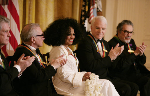 Diana Ross Plays Marriot Hotel Opening in Indianapolis, IMG Cred: georgewbush-whitehouse.archives.gov
