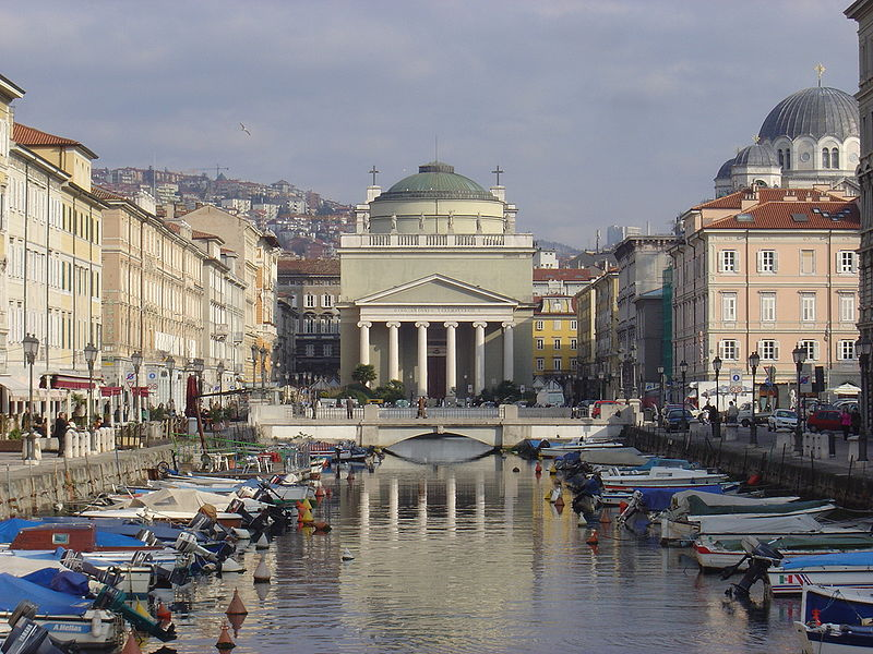 Trieste, Italy, IMG Cred: WikiMedia Commons