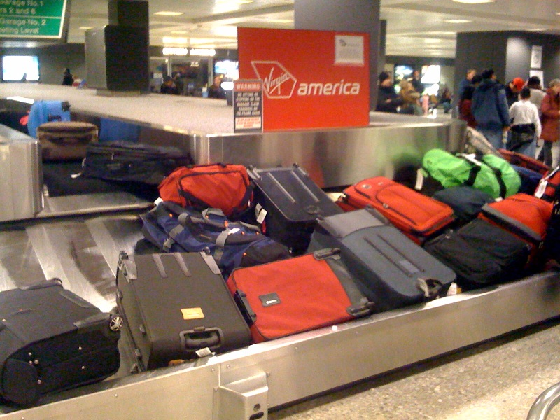 Baggage  Claim (Flickr: Mat Honan)