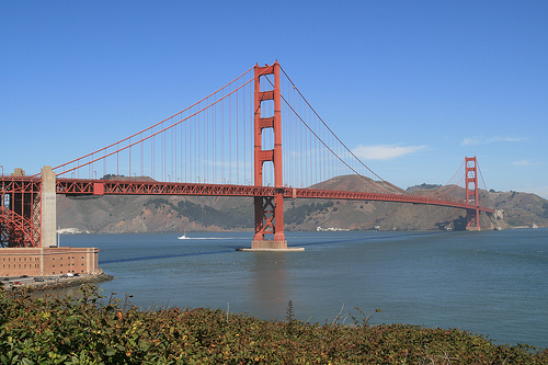 Golden Gate Bridge (CC Flickr photo credit: Bernt Rostad)