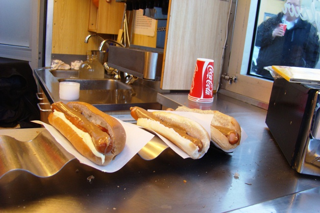 The Best Place for a Hot Dog in Reykjavik, IMG Cred: Tom Johansmeyer