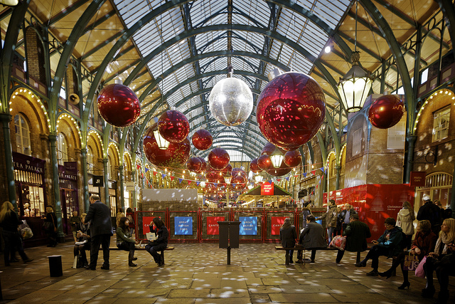 Superb Christmas At Covent Garden, Flickr: Aguichard