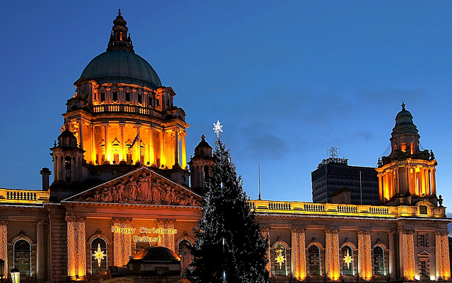 Celebrating Christmas in Northern Ireland, Flickr:  trevphotos