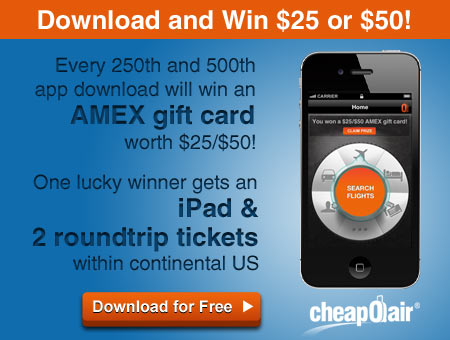 CheapOair Jingles All the Way to One Million App Downloads