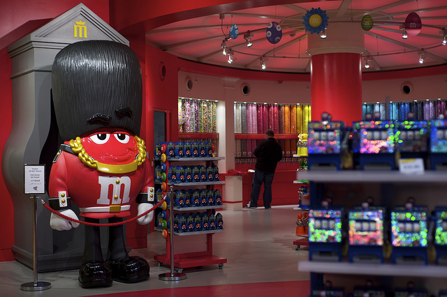 Satisfy Your Sweet Tooth at London's M&M's World, IMG Cred: Chris Osburn
