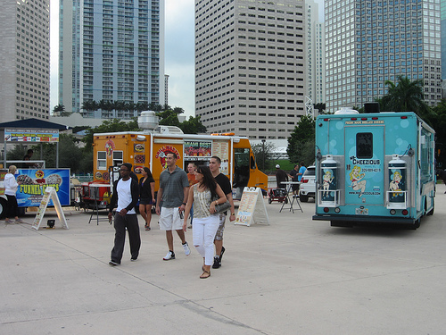 Best Food Trucks in Miami, Flickr: southbeachcars