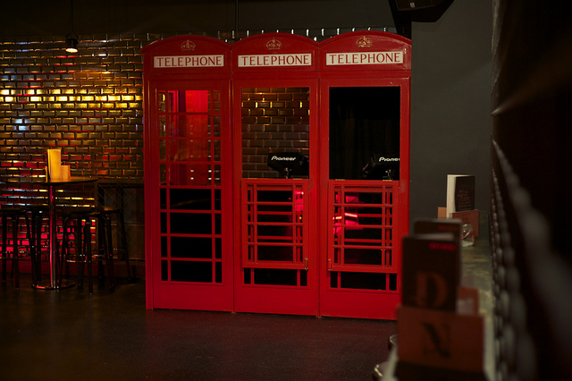 Four of London's Quirkiest DJ Booths, IMG Cred: Chris Osburn