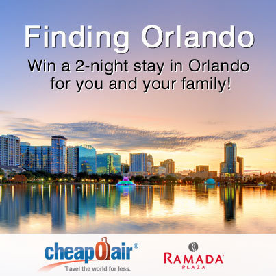 Find Orlando this Spring with CheapOair