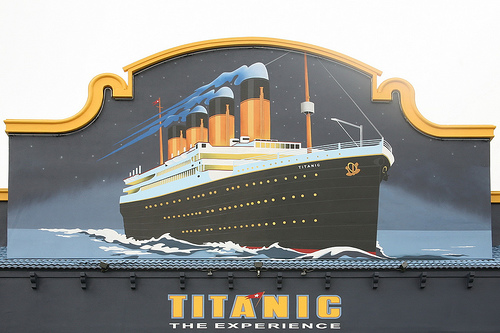 Family Travel: The Titanic Experience in Orlando, Flickr: nostri-imago