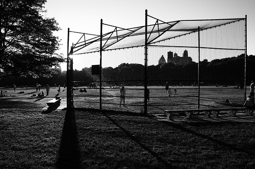 Family Travel: Sports, Games and Fishing in Central Park. Photo credit:Thomas R. Stegelmann