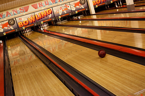 London's Best Bowling Alleys. Photo credit: Tom Pagenet