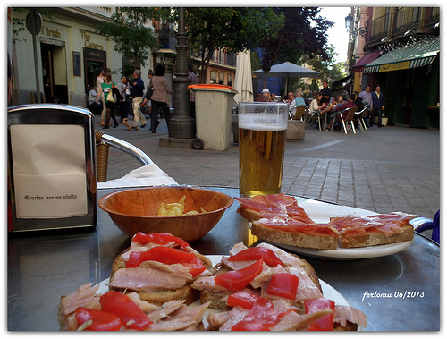 Are You Ready for a Madrid Foodie Experience? Photo credit: ferlomu