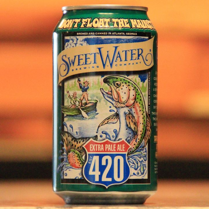 No Foolin', Delta Will Soon Serve Sweetwater 420 on Flights. Photo Credit: SweetWater Brewing Company