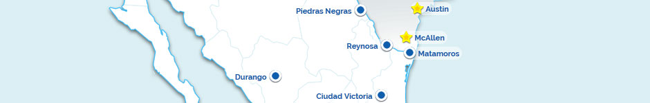Aeromar Airlines Route Map