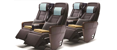 Premium Economy Class in China Airlines