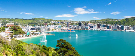 Fly with Air New Zealand to Featured Destination: Wellington