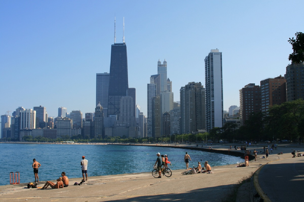 Chicago outdoors