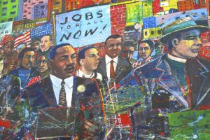 Martin Luther King Mural in Atlanta