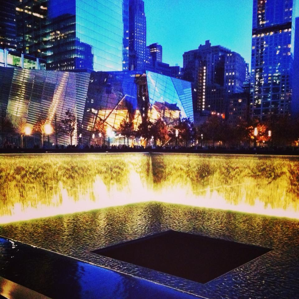 Reflection Pool at 9/11 Memorial