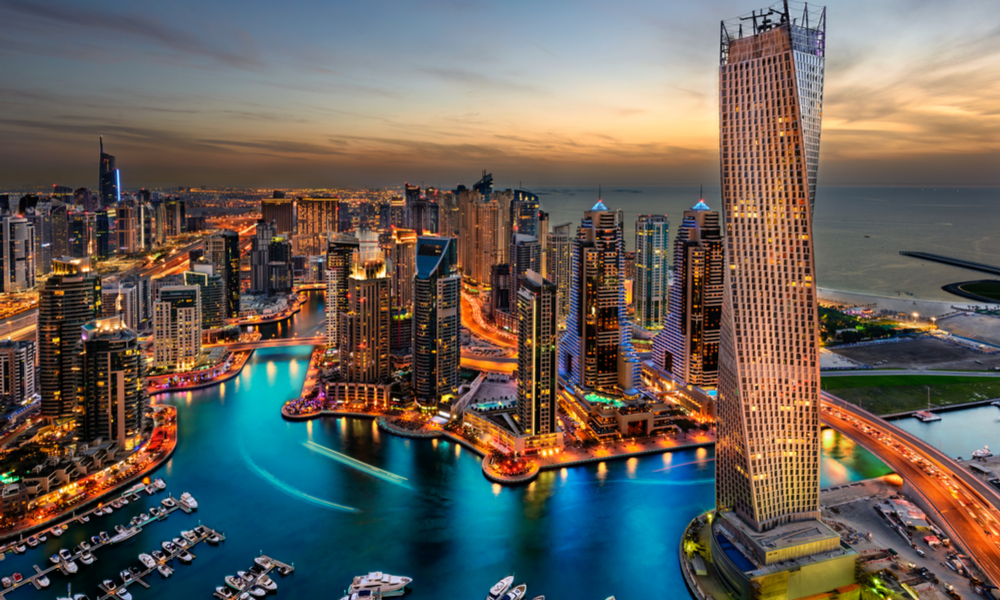 Architectural wonders of Dubai