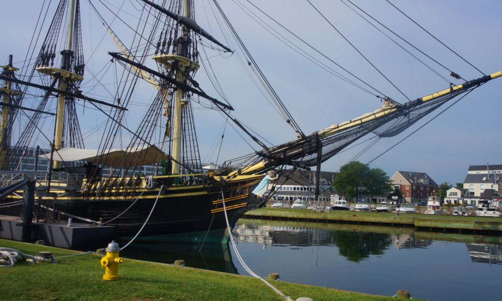 Ship wood, Salem, Massachusetts, USA