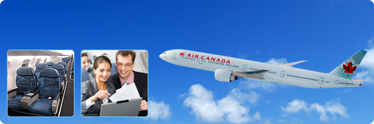 Air Canada First and Business Class Amenities
