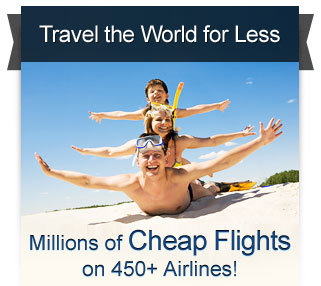 Cheap Flights Sale at CheapOair