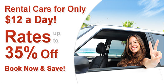 Cheap Car Rentals – Rent a Car & Save up to 35%