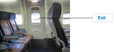 Seats in the Exit Row