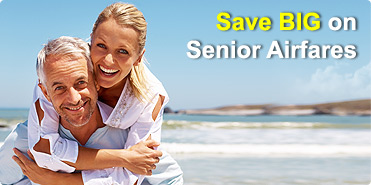 Save BIG on Senior Airfares